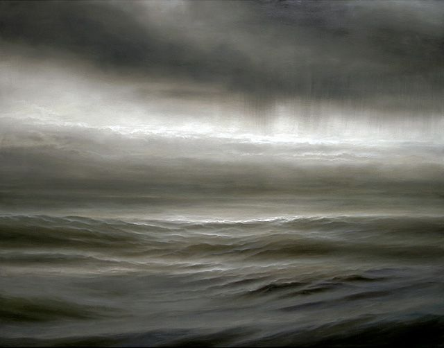 watery beauty                                                      Oil on canvas by Ran Ortner.