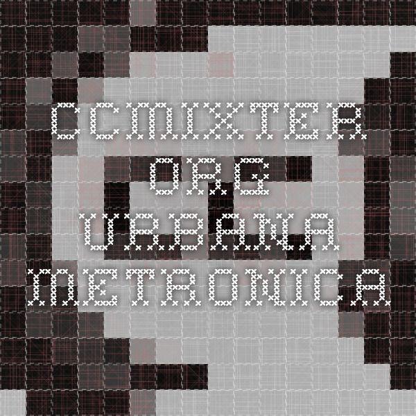 ccmixter.org Urbana-Metronica