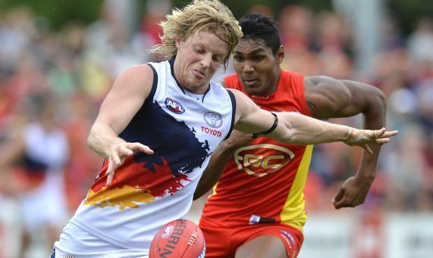 Rory Sloane Gold Coast Suns Vs Adelaide Crows 29 June 2103