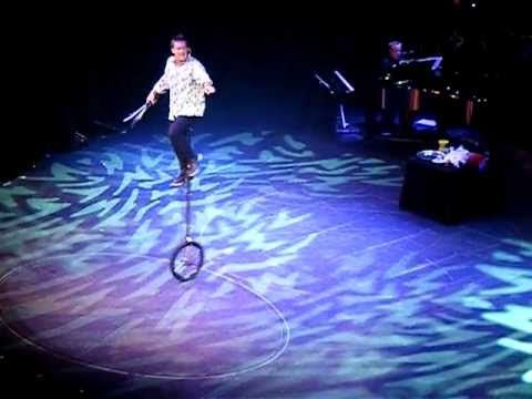 Incredible Comedy Juggler  Pete Matthews on board the Celebrity Eclipse cruiseship