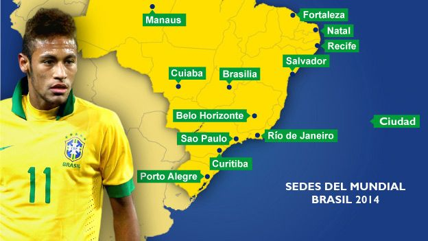 Mundial Brasil 2014: grupos y calendario oficial
