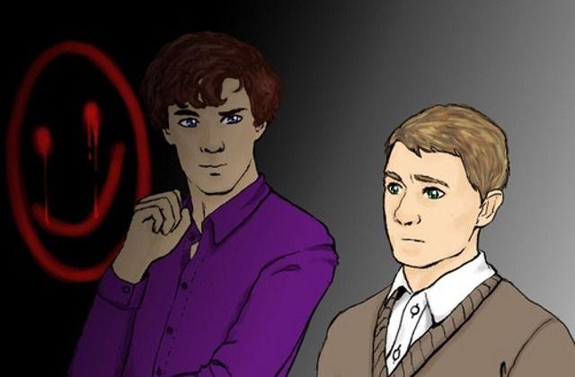 13 increíbles Fan Arts de Sherlock que te darán ganas de ver la serie nuevamente