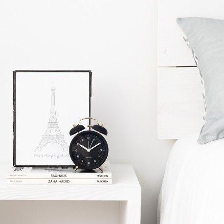 Bell reloj negro
