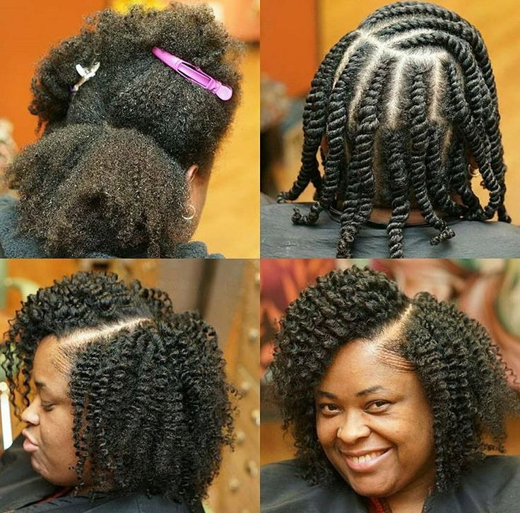 Protective Styles For Natural Hair 438 Best Hair Images On Pinterest  African Hairstyles Coily Hair