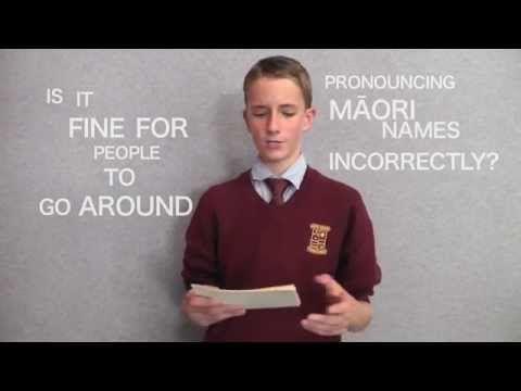 NZ schoolboy gives heartfelt speech urging people to stop mispronouncing Maori words | SBS News