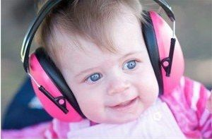 Baby hearing protection. Little ears need protecting - big ears need protecting too!