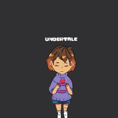 charasdairy: Knowing that you have finished your own gif filled you with determination , all these aus belong to thier awesome creators! Undertale,to toby fox✨