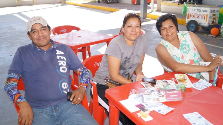 Roberto, Claudia e Ivonne