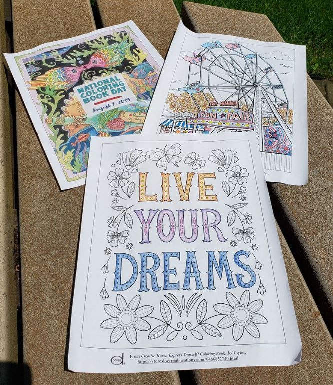 National Coloring Book Day Coloring Books Diy Projects To Try Color