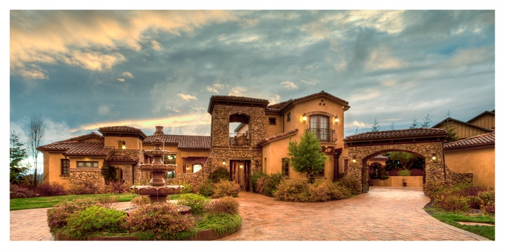 Mediterranean tuscan homes page 42 for Luxury tuscan house plans