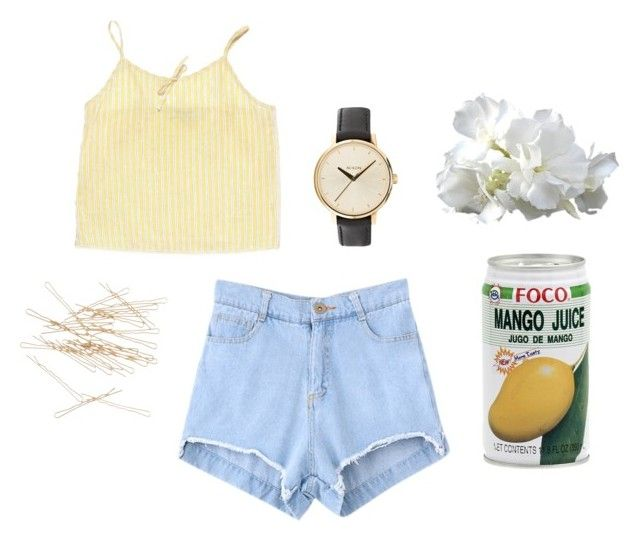 """""""Arima"""" by theperfumemaker ❤ liked on Polyvore featuring Nixon and J.Crew"""