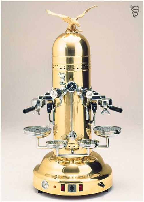Bezzera Eagle espresso machine.  They don't get any more beautiful than this.