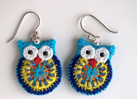 owl earrings???