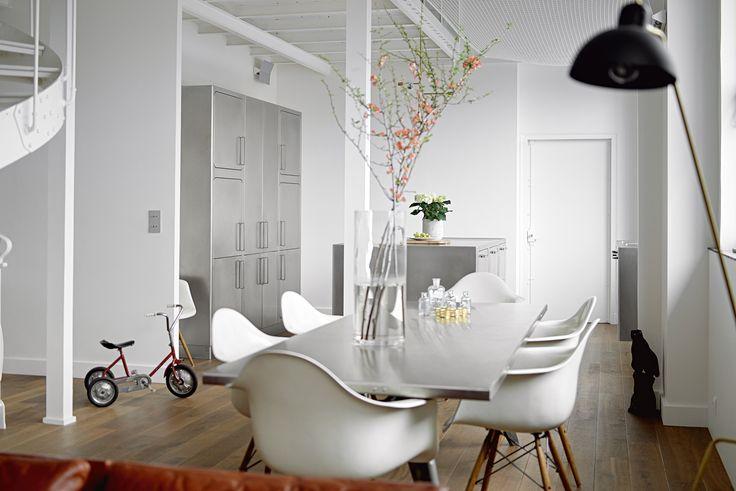 Professional stainless steel kitchen EGO by ABIMIS by PRISMA   design Alberto Torsello