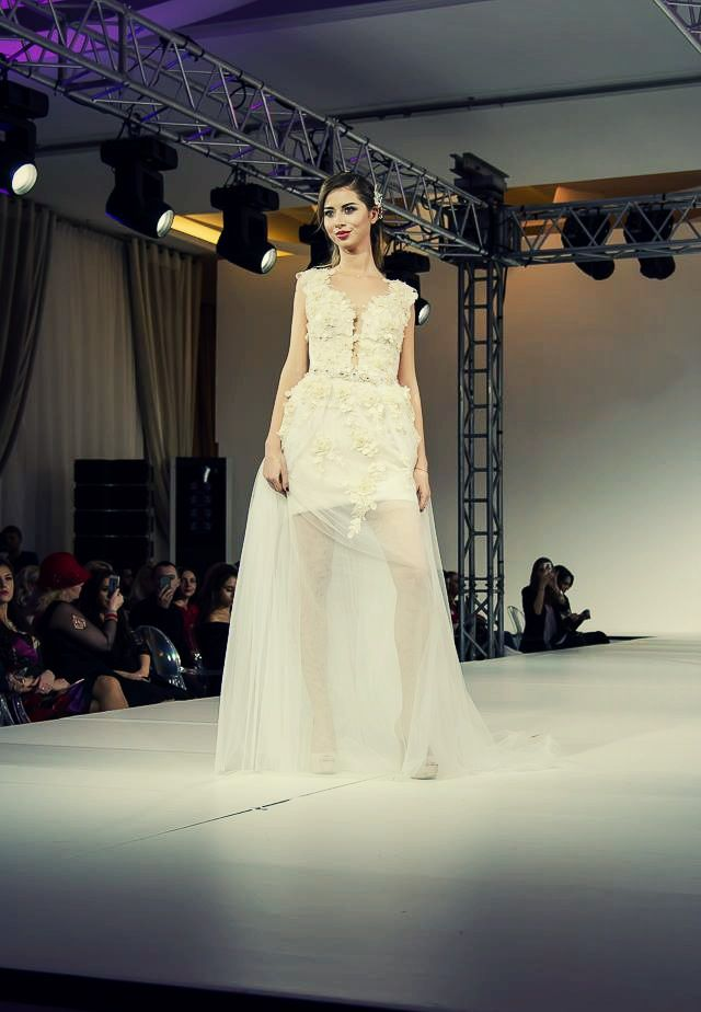 Pictures from incredible event Bucharest Fashion Week, where brand Katy Corso was presented! #Bucharestfashionweek2017 #weddingdresses #HauteCouture #weddingfashion