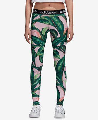 f8e80f584a6 adidas Printed Leggings - Pants & Capris - Women - Macy's | Shopping ...