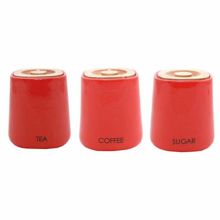 Gl Tea Coffee Sugar Storage Jars The Table