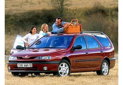 Fiche technique Renault LAGUNA NEVADA 1999 1.8 16V Pack (7pl)