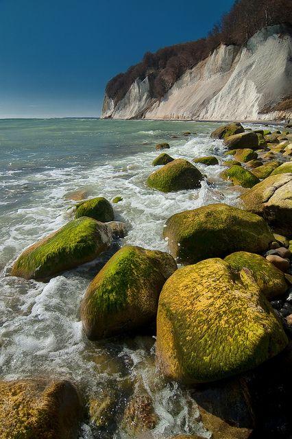 Kreidefelsen auf der Insel Rügen, Germany