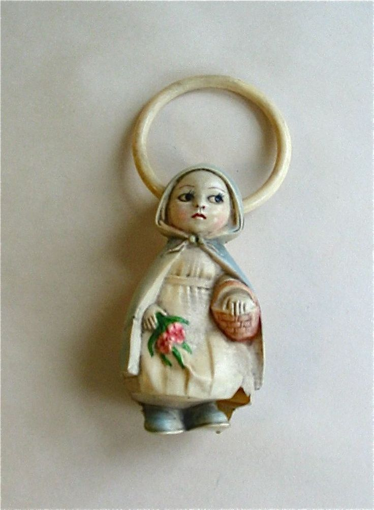 1000 Images About Vintage Bells Amp Baby Rattles On