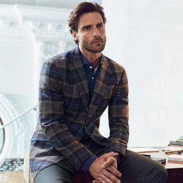 Knitted Back Gilet - Coats & Jackets - Clothing - Men | Hackett