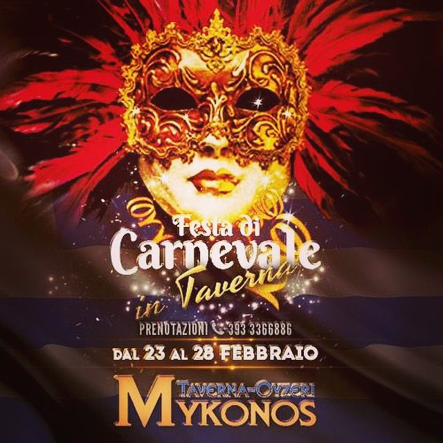 #carnevale2017 dal 23.2 al 28.2  #carnival2017 #ΚαλόΚαρναβάλι σε όλη την #Ελλάδα και #φιλους #tavernagrecareggioemilia #tavernamykonos #tavernaouzerimykonos #mangiaregreco #mangiaregrecoareggioemilia #greekfamily #greekfood #greece #solocosebuone #greektradition