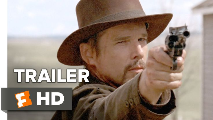 In a Valley of Violence Official Trailer 1 (2016) - Ethan Hawke Movie - YouTube