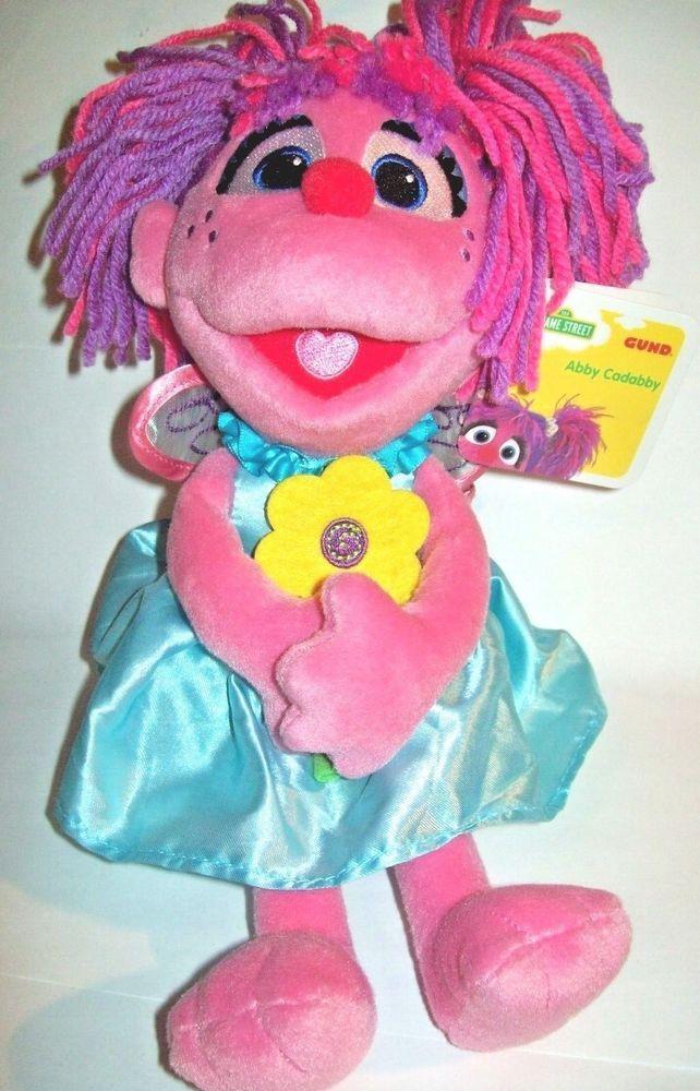 Abby Cadabby 11 Plush Stuffed Doll Toy Gund Sesame Street