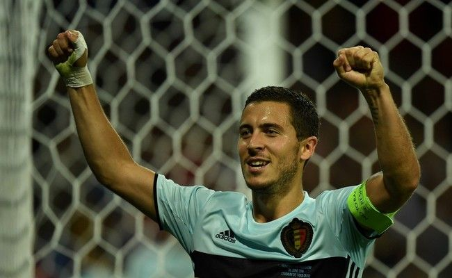 Hazard sobresale con su recital en la goleada a Hungría