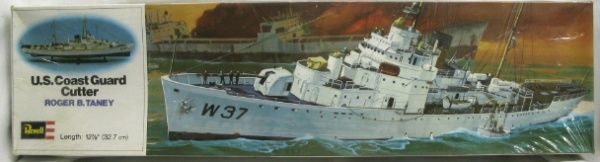 Revell 1/301 USS Roger B. Taney Coast Guard Cutter - (ex-USS Campbell)