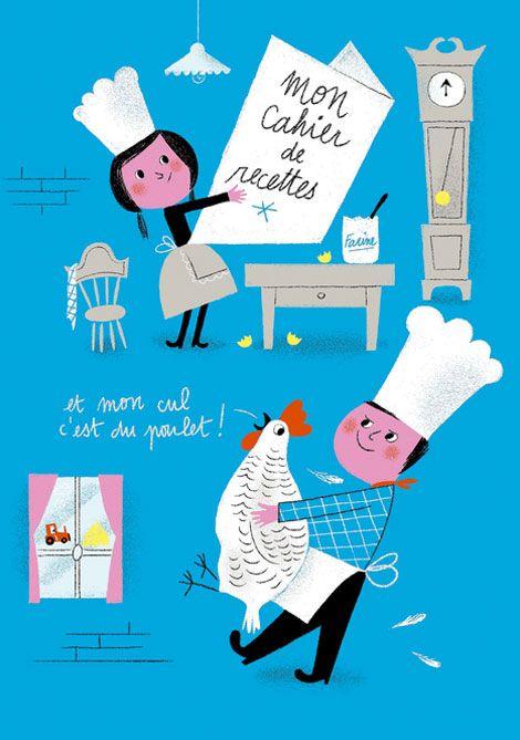 Aurélie Guillerey: Illustration