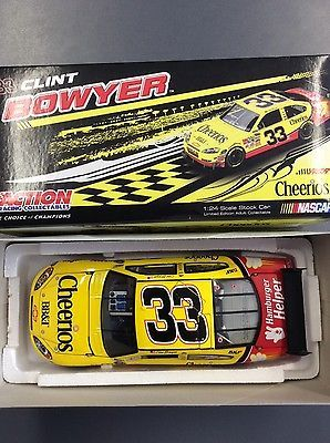 #Nascar 1/24 clint #bowyer #33 #cheerios 2009 chevrolet impala,  View more on the LINK: 	http://www.zeppy.io/product/gb/2/262677778328/