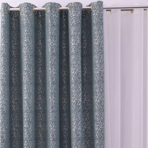 Draperie TF 273 Turcoaz 290cm - Draperii - Perdele si Draperii
