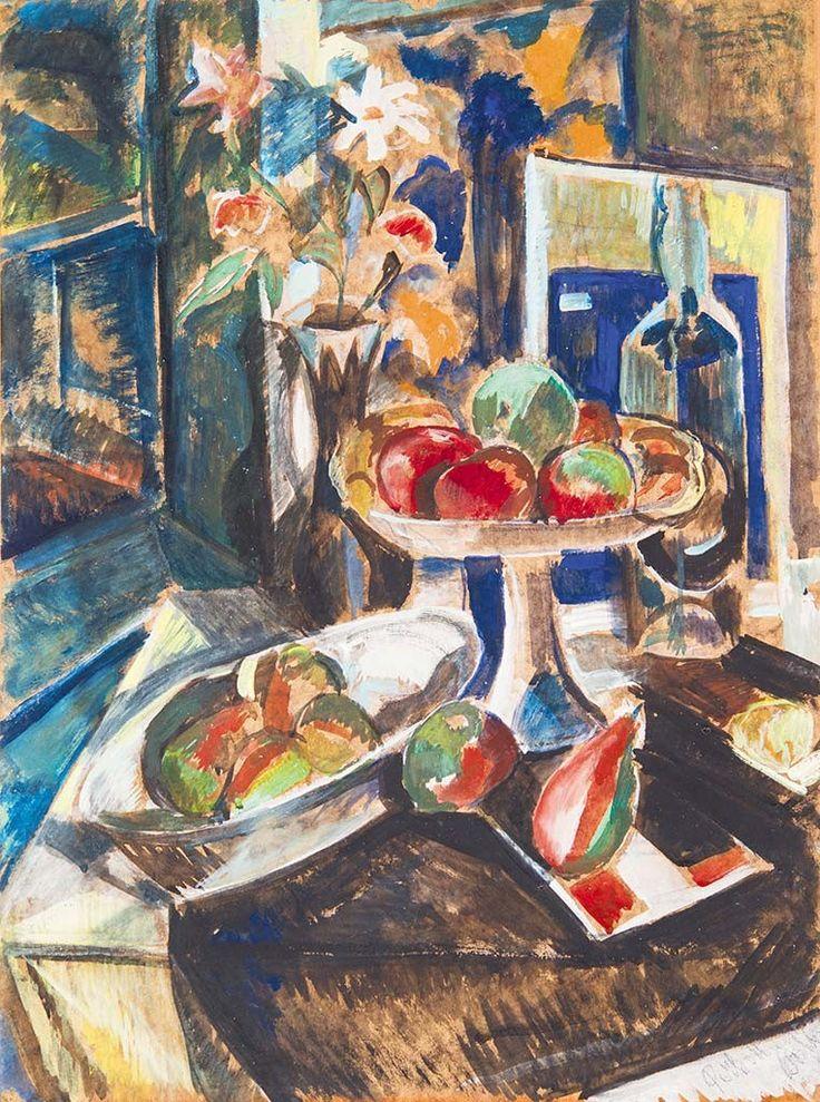 Perlrott Csaba Vilmos (1880-1955) Asztali csendélet