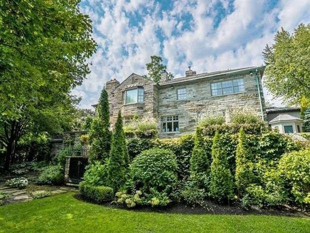 Brian Mulroney's 'Gaudy Interior' Listed For $7.9M