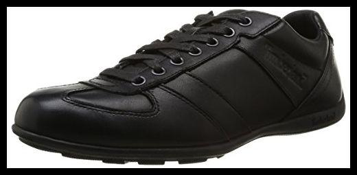Timberland Ek Hookset Low Profile Leather Oxford C9715Am, Mens Lace-up Flats, Black (Black Smooth/Burgundy), 6.5 UK