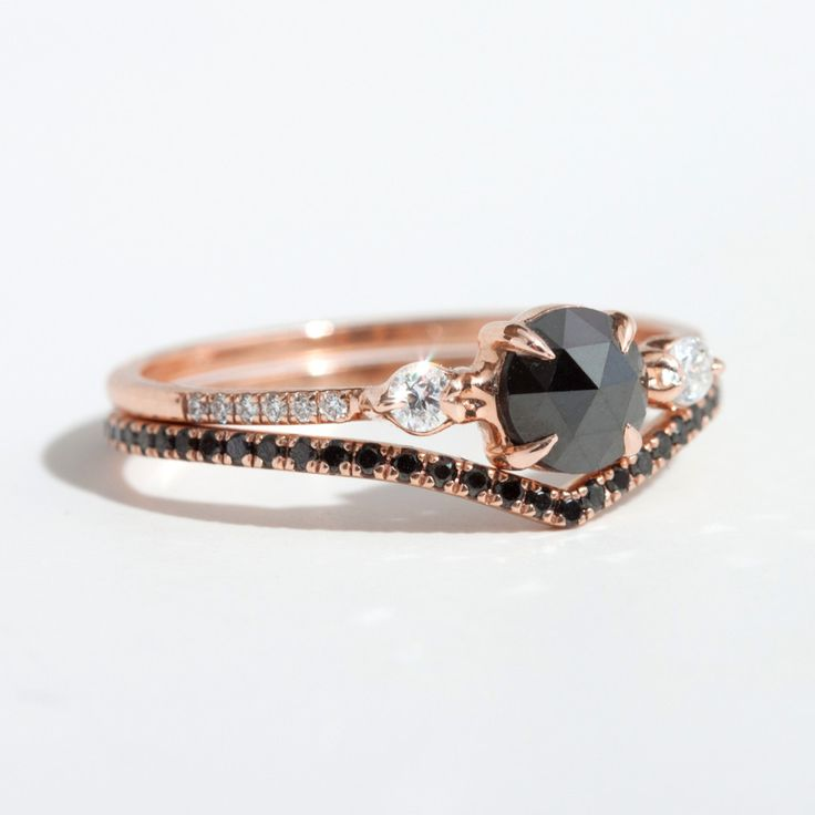 I love Catbird! Odile the Swan, Supreme and their black diamond band. I covet.