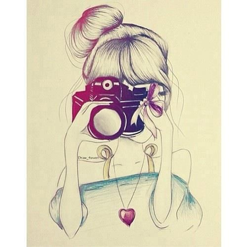 girl with camera ‪Just ße ಌ‬ | via Facebook