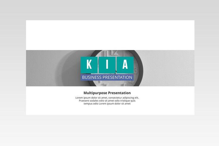 Template de PowerPoint – Kia  O modelo do PowerPoint do KIA tem 120 slides exclusivos cada arquivo em 16: 9 (HD). 5 esquemas de cores, 30 esquemas de cores Premade prontos e 160 + arquivos de opção de cores de temas (XML), 25 slides de ícones pronto para usar. 15+ PSD (Mockup). KIA PowerPoint um modelo limpo, escalável, colorido e multiuso.