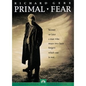 primal fear psychology Wondering what the 10 best psychology movies are movies about psychology-related topics began to appear with greater frequency by the late 1960s when the field became firmly ingrained in popular culture primal fear  this bone.