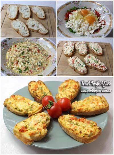 Kahvaltılık Ekmek Dilimleri Tarifi