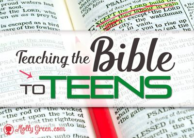Teaching the Bible to Teens
