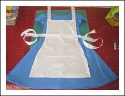 diy little red riding hood costume - Alice in Wonderland