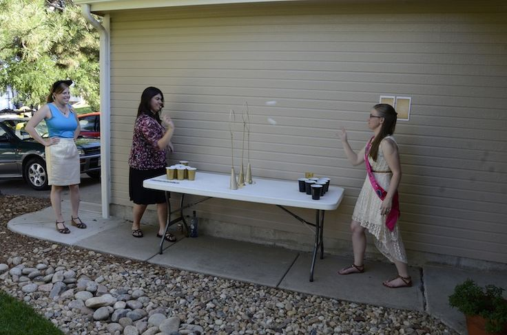 Offbeat Bride - Quidditch Beer Pong. Grab your butter beer, ping pong balls, and your wands, and let's play!