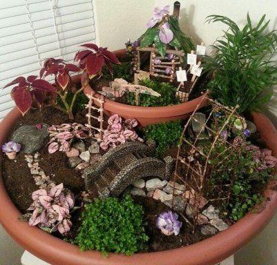 17 mejores ideas sobre jardines en miniatura en pinterest for Jardines en miniatura