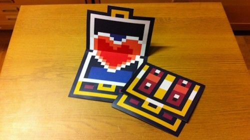 A Valentine for My Zelda    OMG, This is the most awesome card ive ever seen, I know what im making next year..!