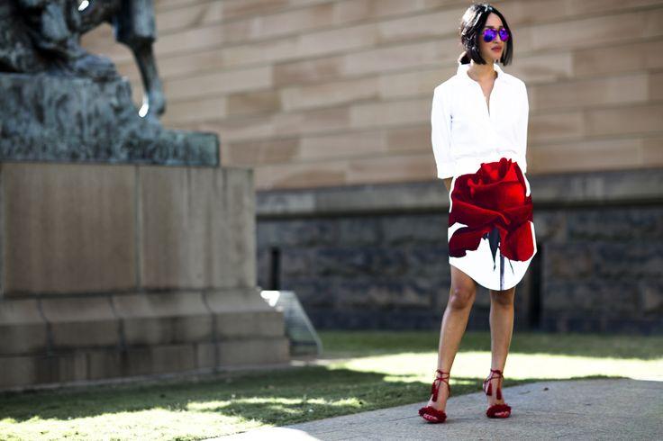 #MBFWA 2015 Mercedes-Bens Fashion Week Cocktail Revolution Street style fashion Australia