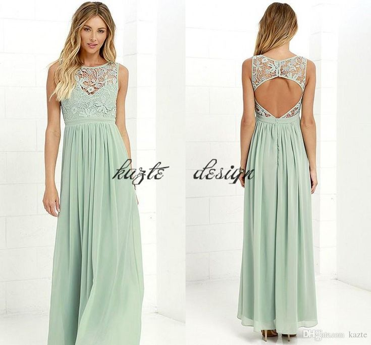 Pale Mint Lace Chiffon Country Beach Bridesmaid Dresses 2018 Cheap Keyhole Back Maid of Honor Junior Wedding Guest Party Dress Mermaid Wedding Dress Rose Gold Sequin Dress Country Bridesmaid Dress Online with $58.29/Piece on Kazte's Store | DHgate.com