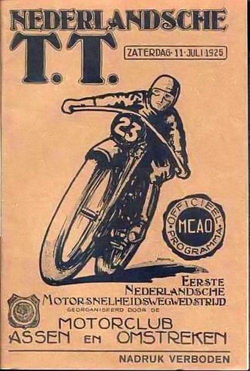 1925 dutch TT in Assen