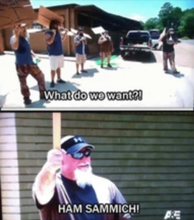 Favorite Duck Dynasty Quote by Godwin!